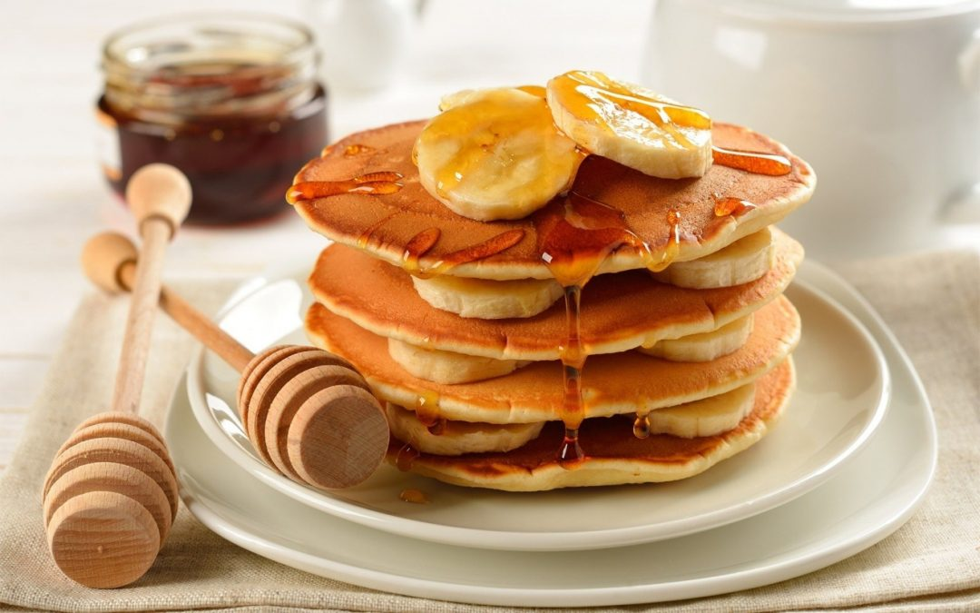 Back in your jeans banana pancakes